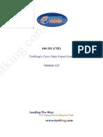TestKing 646-201 Edt4