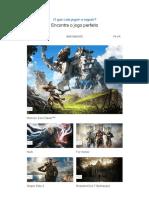 Jogos para PS4 _ Isto é para os jogadores _ PlayStation