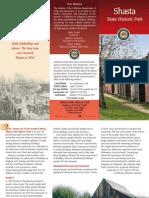 Shasta State Historic Park Brochure