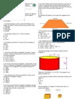 Prueba Diagnóstica de Matematica 2017