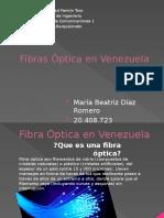 Fibras Óptica en Venezuela