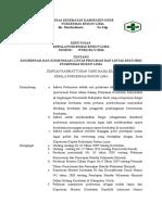 Sk Koordinasi Dan Komunikasi Lintas Program Dan Lintas Sektor