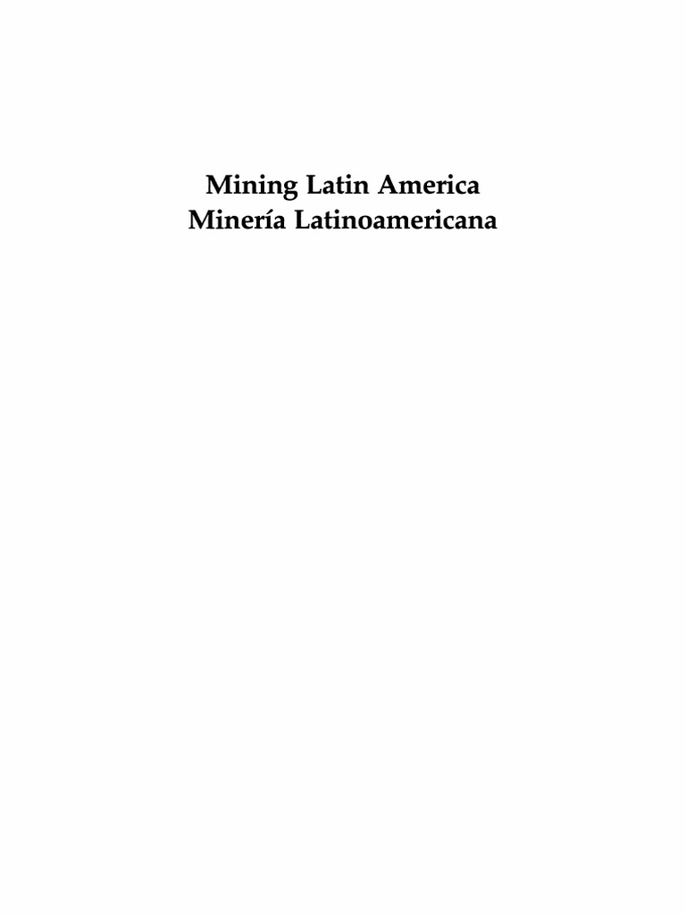 J h decker auth mining latin america minera latinoamericana mining latin america minera latinoamericana challenges in the mining industry desafos para la industria minera mining royalty payment fandeluxe Gallery