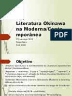 Literatura Okinawana Moderna