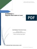 Evidencia 1- Reporte Final Sobre El Caso.