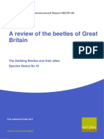 A Review of the Scarce and Threatened Beetles of Great Britain - The Darkling Beetles and Their Allies