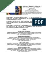 INDICADORES ECONÔMICO-FINANCEIROS E OS DETERMINANTES DA ESTRUTURA DE CAPITAL DAS EMPRESAS DO SETOR DE SERVIÇOS