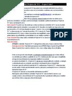 Tutorial ProjetoTCC