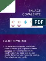 Enlace covalente exposicion