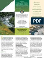 South Yuba River State Park Brochure