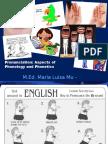 Phonetic Aspects