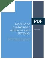 Modulo de Contabilidad Gerencial Sistemas
