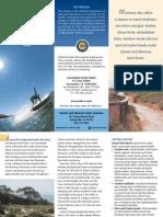 Sunset State Beach Park Brochure