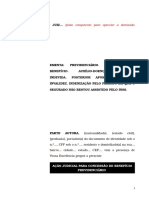 30.1- Pet inicial - Auxílio-doença - Indenização do período cessado indevidamente