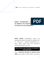 38.1- Pet. inicial - Aposentadoria por invalidez ou auxílio-doença - Ilegalidade do instituto da alta programada.doc
