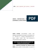 28.1- Pet. inicial - Auxílio-doença - Restabelecimento de benefício cessado indevidamente.doc