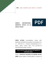14.1- Pet. inicial - Revisão - Buraco Negro -  Reajuste pelo artigo 144 da lei 8213 de 1991.doc