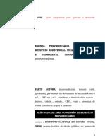 67.1- Pet. inicial - Concessão de benefício assistencial a pessoa incapacitada parcial e permanentemente para o trabalho.doc