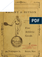 (1901) Catalogue of Fine Athletic Goods