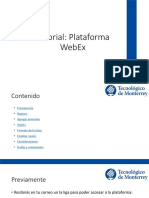 Tutorial Webex