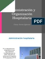 Administ Racin y Organ i Zac in Hospital Aria