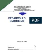 Trabajo de Desarrollo Endogeno