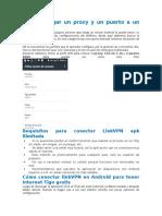 Cómo Agregar Un Proxy y Un Puerto a Un Perfil APN