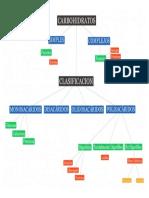 Carbohidratos Mapa Conceptual