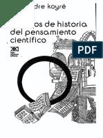 Koyré, Alexandre. Historia Del Pensamiento Científico