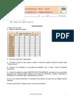 EXCEL 3 Ficha Tabelas Dinâmicas