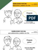 Habilidades Sociales Para Adultos y Adolescentes Con TEA