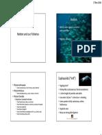 Nekton and Fisheries Oceanography