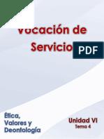 Ética, Valores y Deontología _Unidad VI _ Tema 4