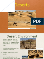 desert habitat power point by anne curran