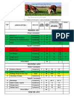 Ing Zootecnista Plan de Estudio