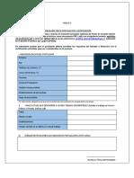 Formulario Unico Postulacion Anexo 2