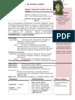 Curriculum Vitae Mio