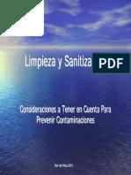 Limpieza y Sanitización MDQ10