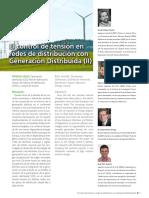 2 El Control de Tensión en Redes de Distribucion Con GD