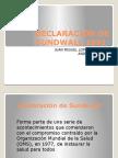 Declaracion de Sundwall 1991