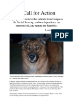 A Call for Action - eBook