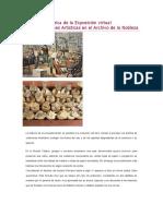 Evolución Histórica de La Exposición Virtual Encuadernaciones Artísticas en El Archivo de La Nobleza