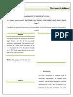 Informe N°2 %5bYogur Aflanado%5d