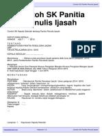 Download Contoh SK Panitia Penulis Ijasah Kepalasekolah.org