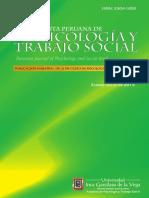 Acosta, Torrente, Salanova y Llorens (2013). Revista Peruana de Psicología y Trabajo Social