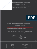 impulse response for differential equation
