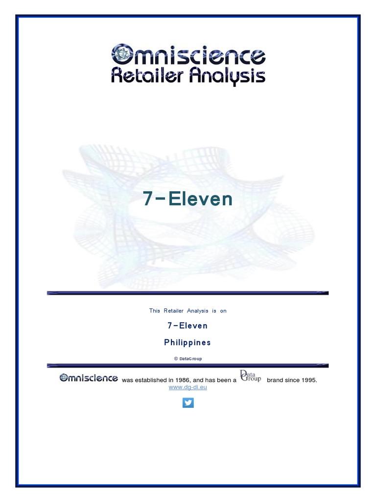 293780744 7 Eleven Philippines Pdf Retail Online Shopping
