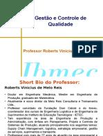 Slides Gestao Da Qualidade - Aula Inicial Prof Roberts