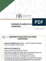 Sala Virtual. P.P Informe de Daño