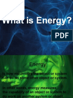 Energy and Changes